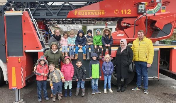 Der SchultütenClub bei der Gevelsberger Feuerwehr