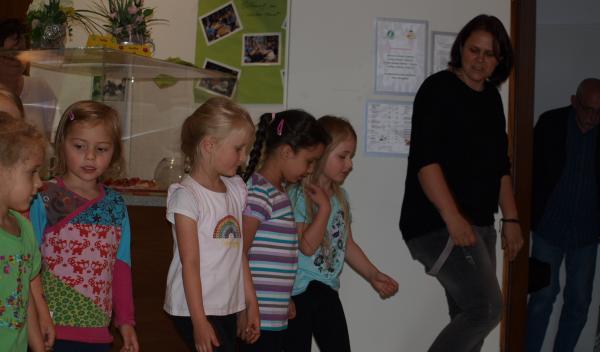 Auftritt der Asbecker Tanzmäuse beim Erdbeerfest des AWO Ortsvereins Gevelsberg